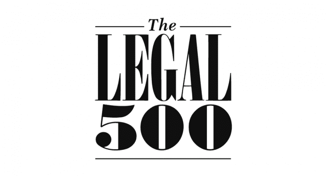 DT wyróżniona w rankingu LEGAL 500 / DT have been ranked by Legal 500