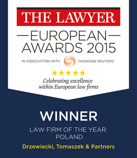 DT Law Firm of the Year – Poland